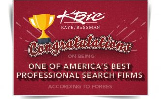 Kaye/Bassman Named on Forbes' List of Best Recruiting Firms 2018