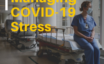 How to Combat COVID-19 Stress and Still Do Your Job