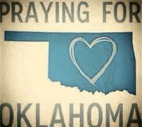 Our thoughts and prayers go out to Oklahoma