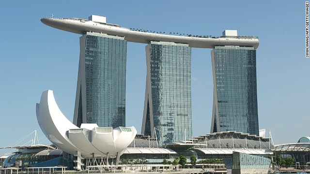 Marina Bay Sands Singapore Cost To Build