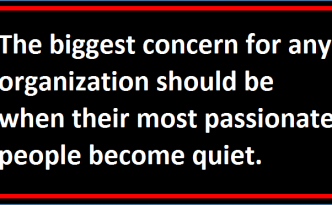 When Your Most Motivated Employees Become Quiet!