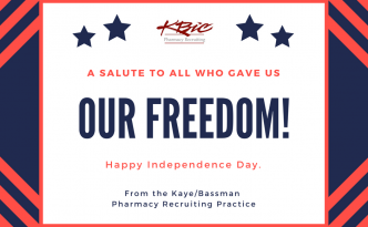 Happy Independence Day from Kaye/Bassman Pharmacy