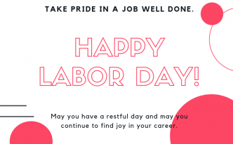 Happy Labor Day from Kaye/Bassman Pharmacy Recruiting!