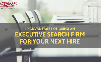 10 Compelling Reasons to Hire an Executive Search Firm - Kaye/Bassman Pharmacy