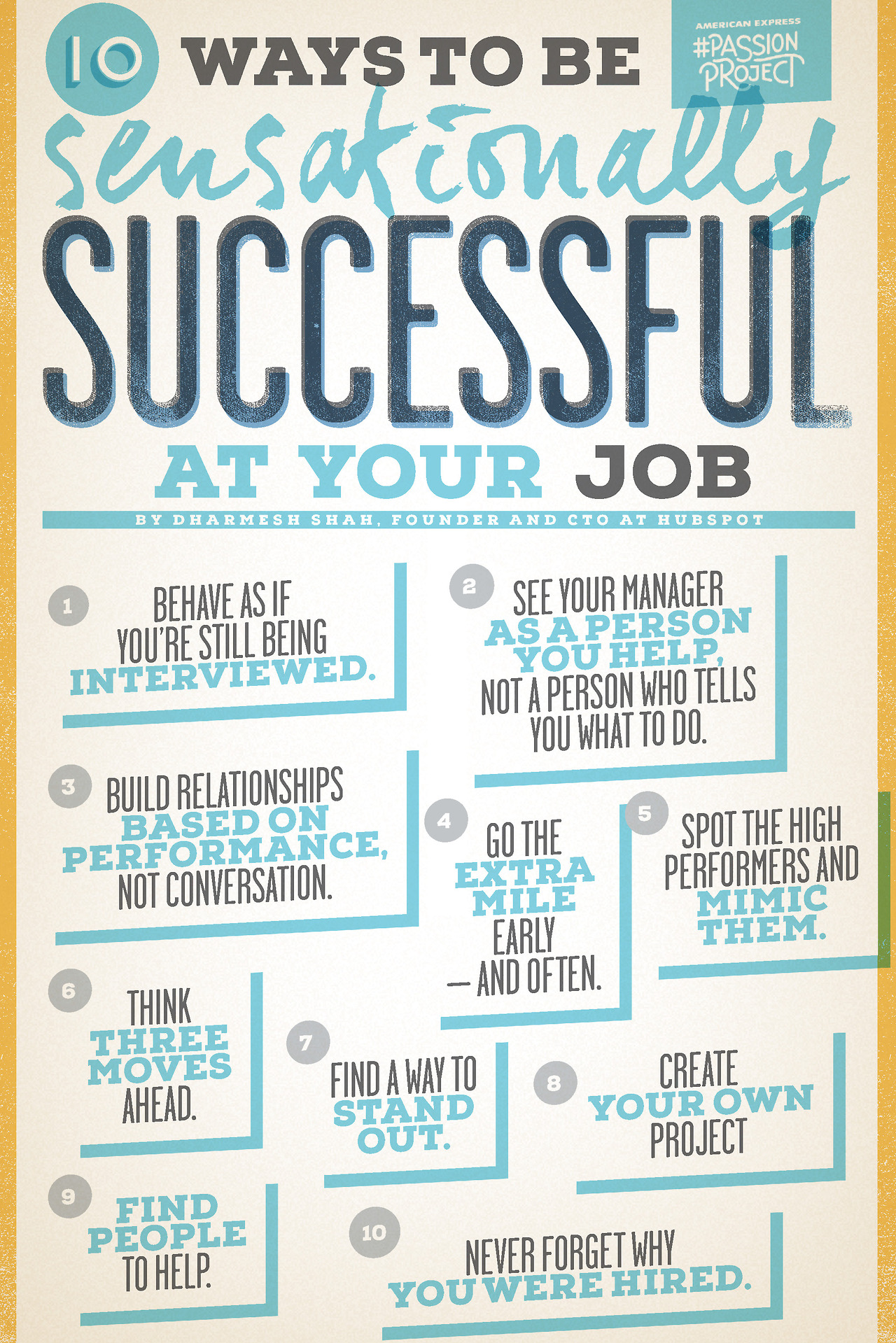how to be sensationally successful at your job