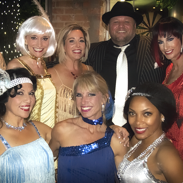 The Kaye/Bassman Foundation took us all back to the Roaring 20's!